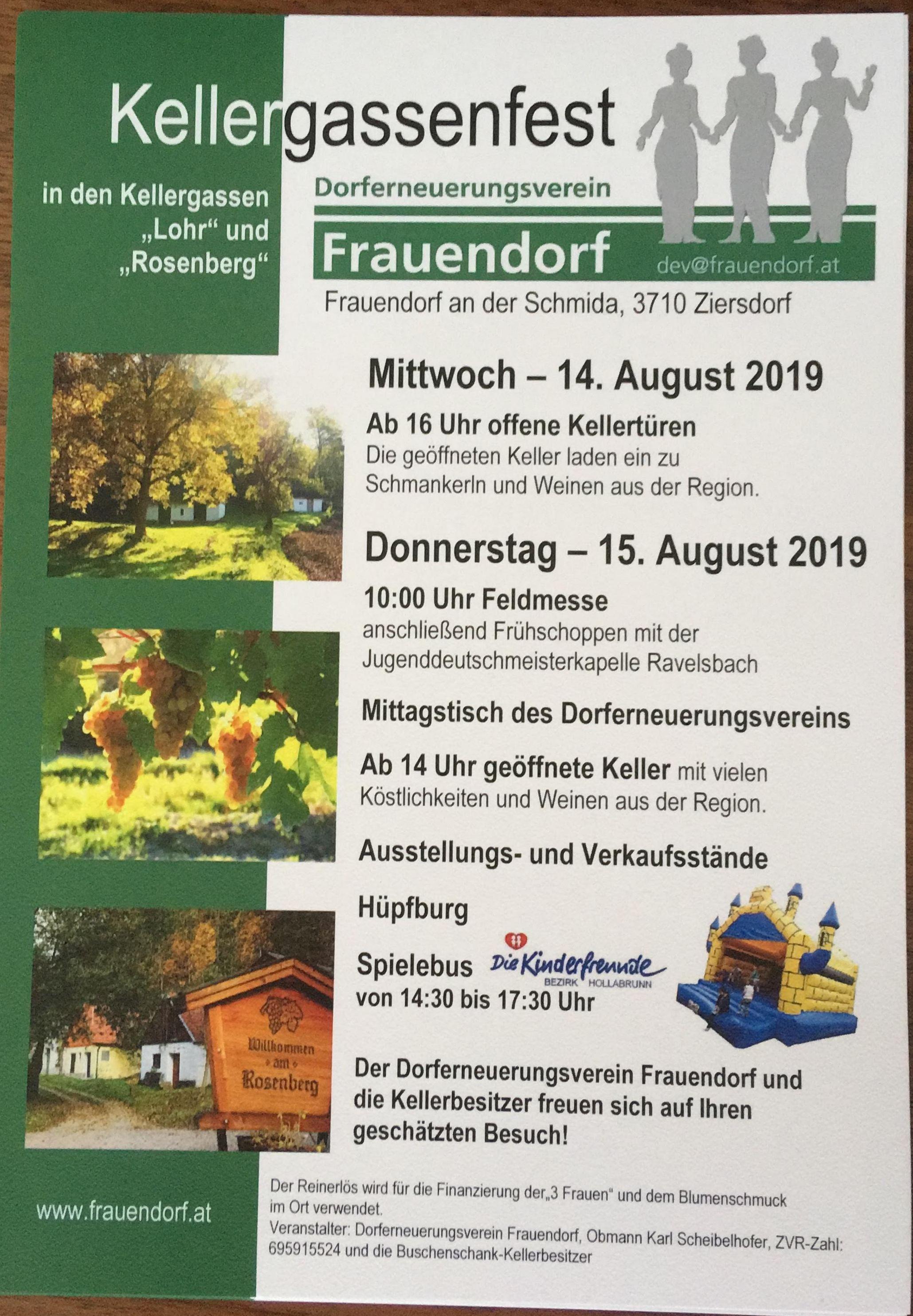Kellergassenfest 2019
